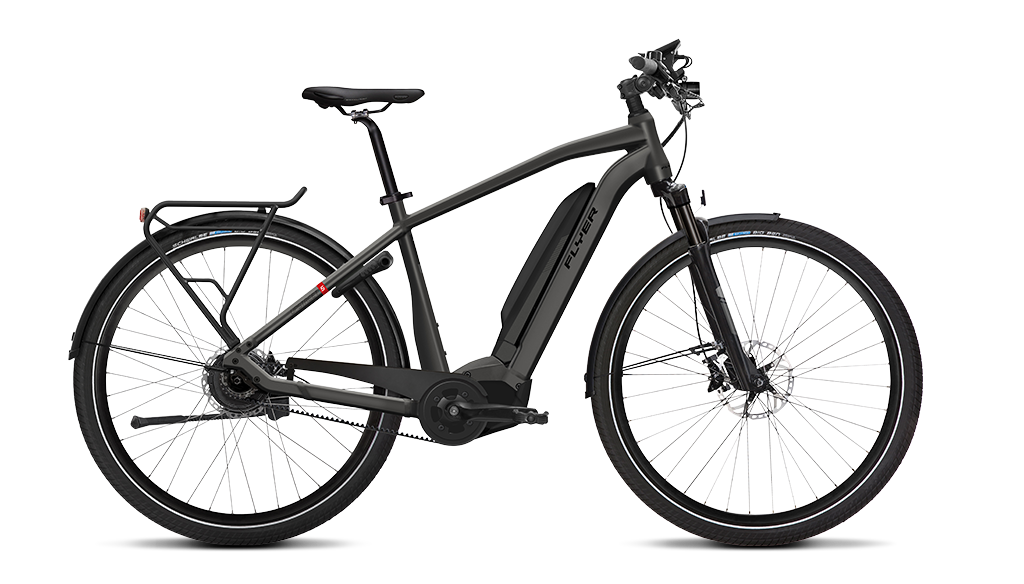 FLYER_E-Bikes_Upstreet5_Herrenrahmen_anthracite
